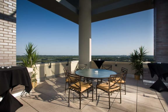 Sunset Terrace on Level 15, at Wentworth House,North Bethesda, MD, 20852