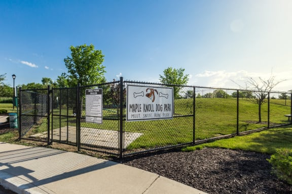 Dog Park at Maple Knoll Apartments, Westfield, IN, 46074