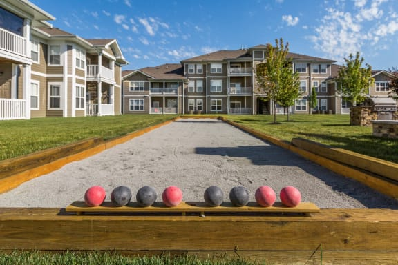 Bocce Ball Court at Maple Knoll Apartments, Westfield, Indiana