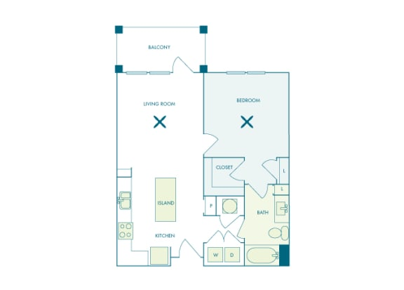 Nona Park Village - A2 - Camellia - 1 bedroom - 1 bath
