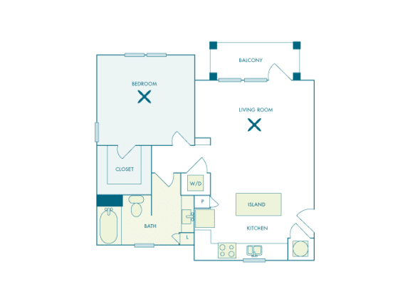 Nona Park Village - A3 - Hibiscus - 1 bedroom - 1 bath