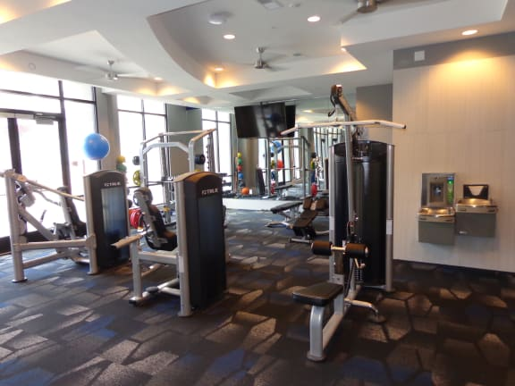 State Of The Art Fitness Center at Avant Apartments, Indiana, 46032
