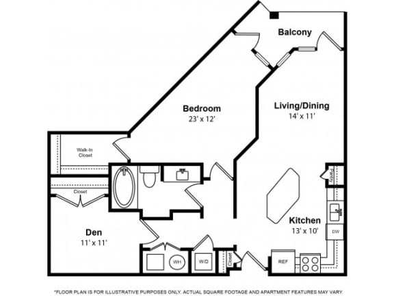 Floor Plan  Floorplan at The Ridgewood by Windsor, 4211 Ridge Top Road, VA