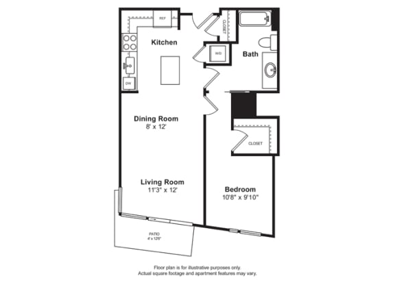 Floorplan at Cirrus, Washington 98121