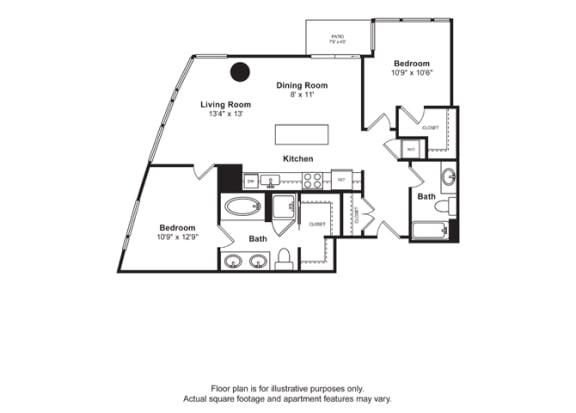 Floor Plan  Floorplan at Cirrus, Washington