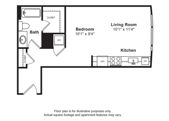 Floor Plan  Floorplan at Cirrus, Washington 98121, opens a dialog