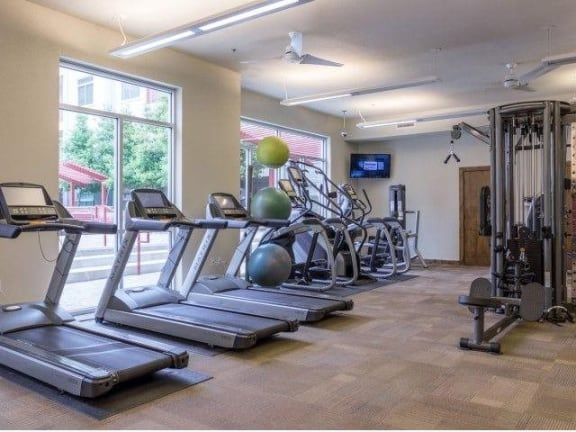 24-Hour Fitness Center at Eleven by Windsor, Texas, 77002