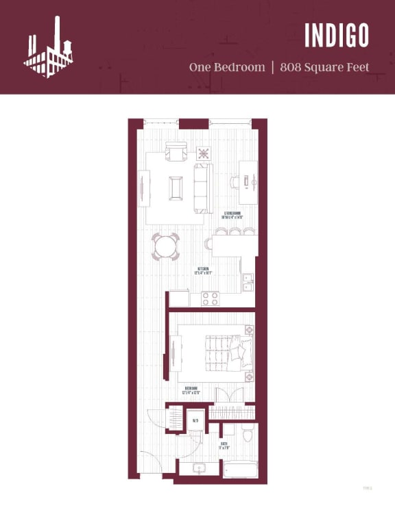 Floor Plan  new apartments in Greensboro, NC, opens a dialog