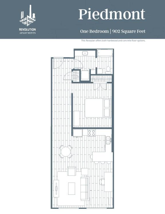 Floor Plan  Piedmont