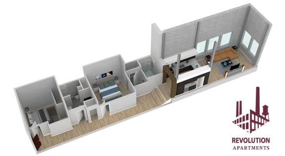 Floor Plan  Loft C