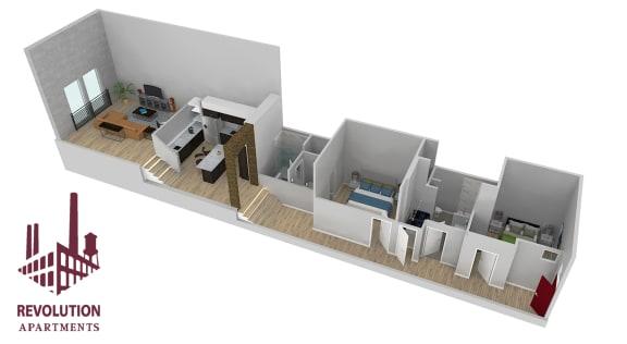 Floor Plan  Loft D