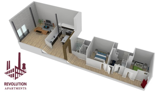 Floor Plan  Loft E