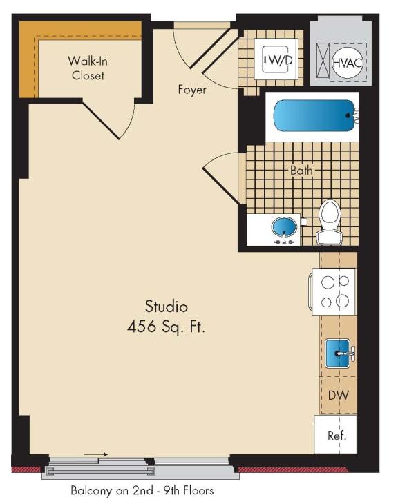 Floor Plan  Studio A4