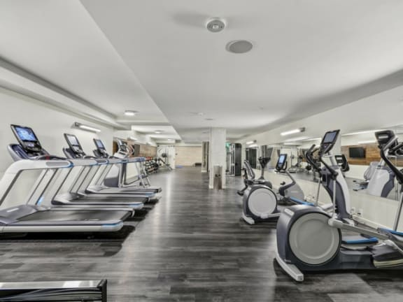 Fitness Center at The Whittaker, Seattle, WA