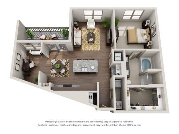 Studio 1 2 Bedroom Apartments In Dallas Tx Alara Uptown