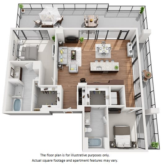 Floor Plan  2 bedroom apartment floor plans