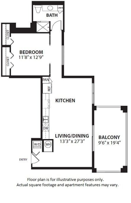 Floor Plan  A4 floor plan at Windsor at Doral, Doral, FL, opens a dialog
