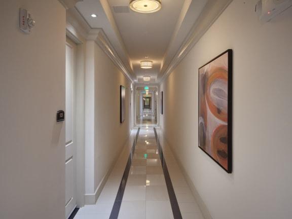 Air Conditioned Interior Corridors  at Windsor at Doral,4401 NW 87th Avenue, Miami, 33178