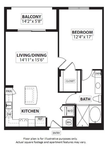 Floor Plan  Floorplan at Windsor at Doral,4401 NW 87th Avenue, FL 33178, opens a dialog