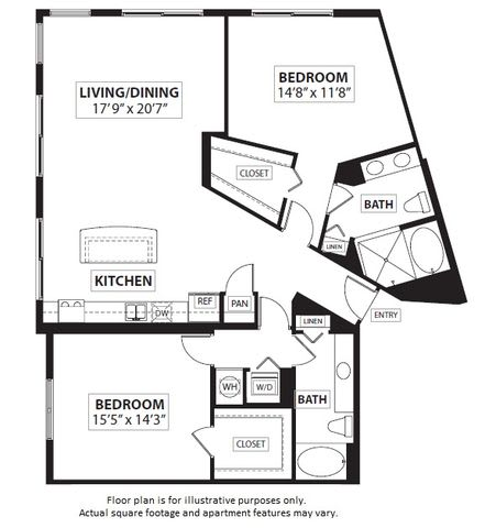 Floor Plan  Floorplan at Windsor at Doral,4401 NW 87th Avenue, Miami, opens a dialog