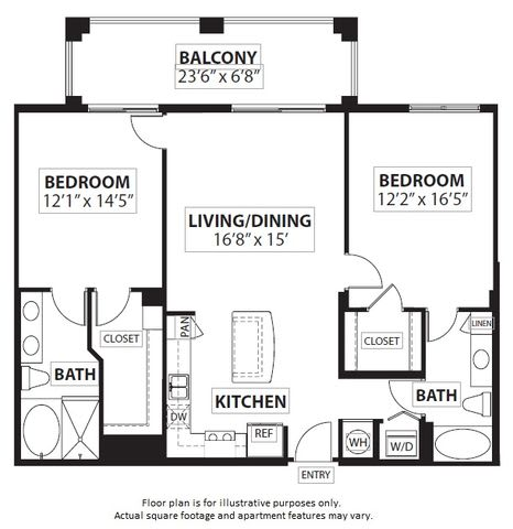 Floor Plan  Floorplan at Windsor at Doral,4401 NW 87th Avenue, Miami,FL, opens a dialog