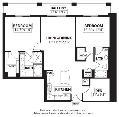 Floor Plan  Floorplan at Windsor at Doral, Miami,FL 33178, opens a dialog