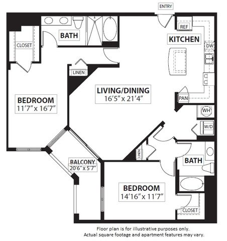 Floor Plan  Floorplan at Windsor at Doral,4401 NW 87th Avenue, Miami, 33178, opens a dialog