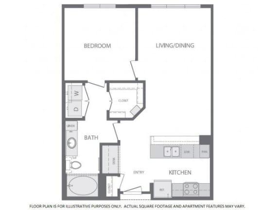 Floor Plan  Floorplan at Windsor at West University, 2630 Bissonnet Street, Houston, 77005, opens a dialog
