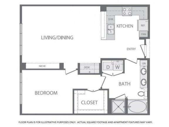 Floor Plan  Floorplan Windsor at West University, Houston, TX 77005, opens a dialog