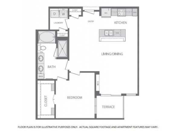 Floor Plan  Floorplan at Windsor at West University, 2630 Bissonnet Street, Houston, TX 77005, opens a dialog