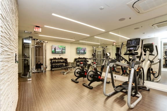 Peloton Bike And Training Space at Element 28, Bethesda