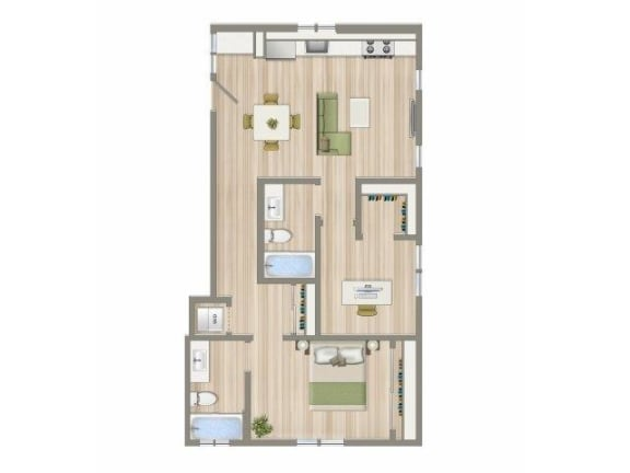 Floor Plan  CA_SantaMonica_Pacifico_p0539217_E_2_FloorPlan