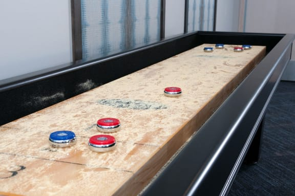 Game Room with Shuffleboard at The Axis, Plymouth, 55441