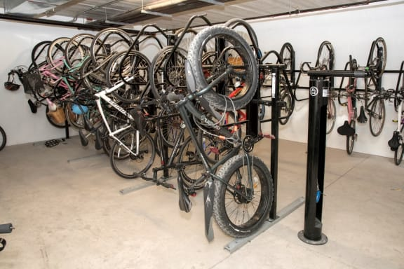 Bike Rack at The Axis