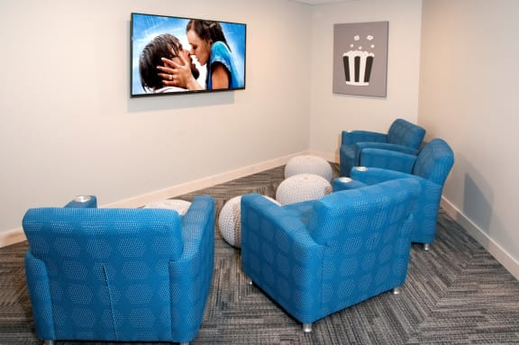 TV Room at The Axis, Plymouth, MN