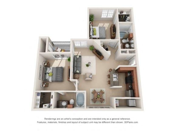 Floor Plan  Albany Floor Plan at Tiburon, Houston, TX, 77064