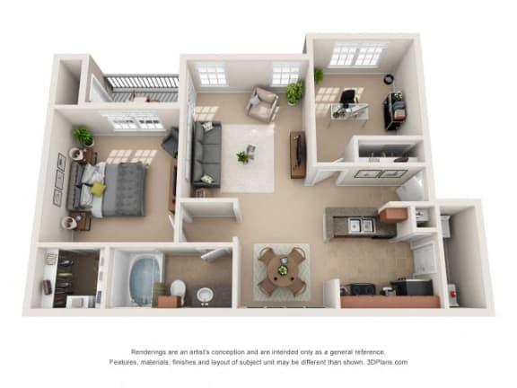 Floor Plan  Marin Floor Plan at Tiburon, Houston, 77064