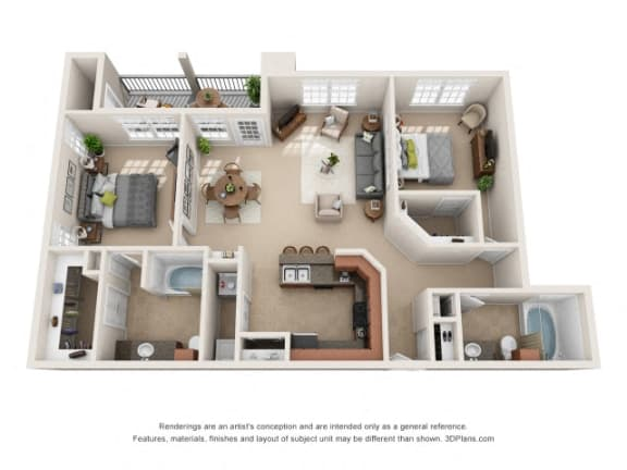 Floor Plan  Paradise Floor Plan at Tiburon, Houston, Texas