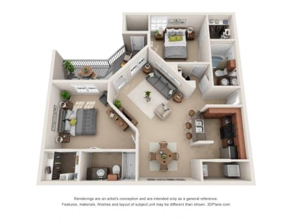Floor Plan  Piedmont Floor Plan at Tiburon, Texas, 77064