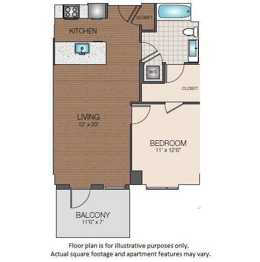 Floor Plan  A2d Floorplan at The Victor