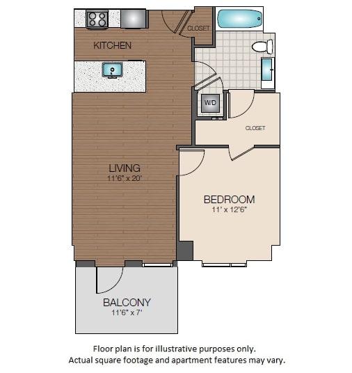 Floor Plan  A2e Floorplan at The Victor