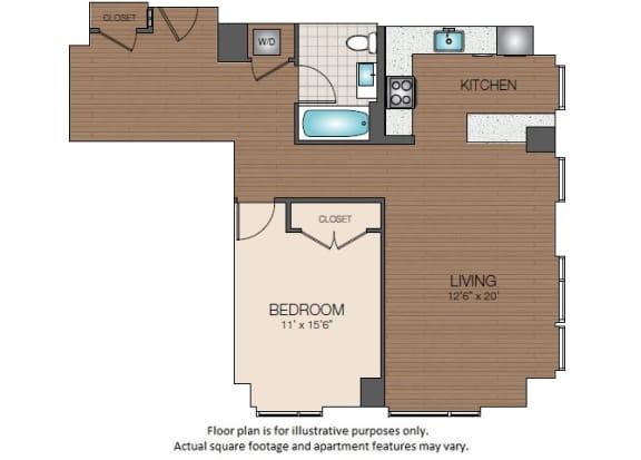 Floor Plan  A3d Floorplan at The Victor
