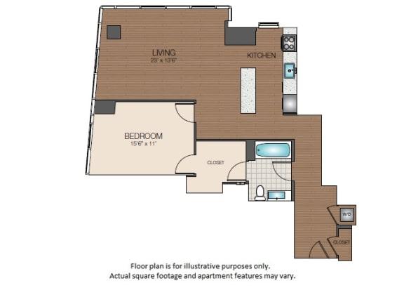Floor Plan  A3e Floorplan at The Victor