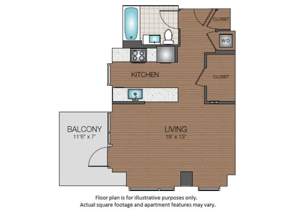 S1b Floorplan at The Victor