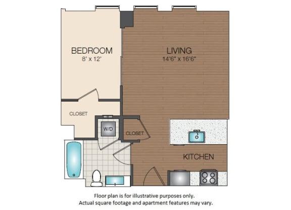 Floor Plan  S1d Floorplan at The Victor