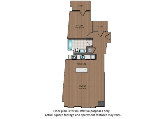 Floor Plan  S2 Floorplan at The Victor
