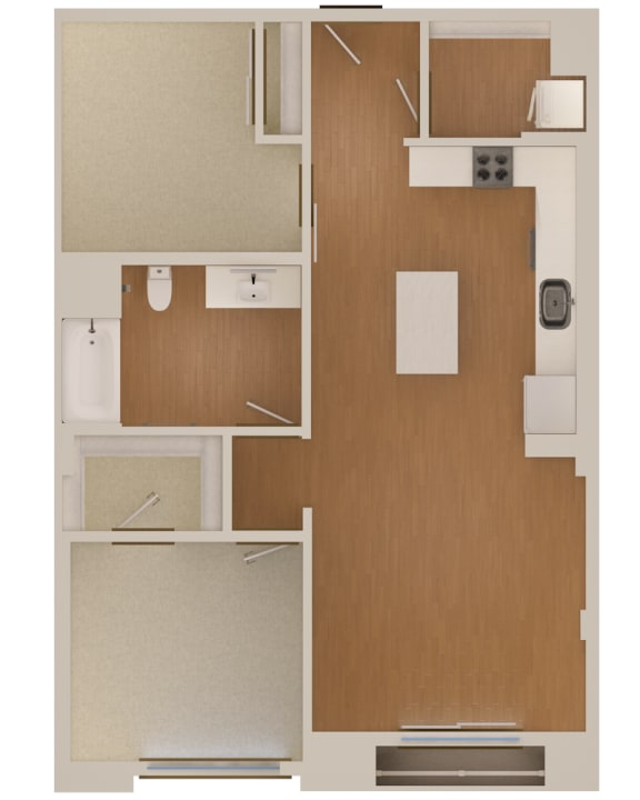 Floor Plan  floorplan The Martson 94063
