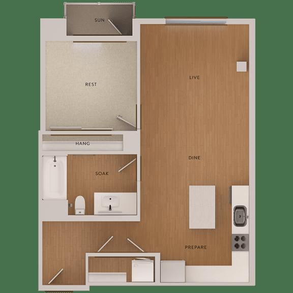 Floor Plan  floorplan The Martson 94063, opens a dialog