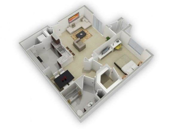 Floor Plan  The Cornish Floorplan at Algonquin Square Apartment Homes, Algonquin, IL 60102