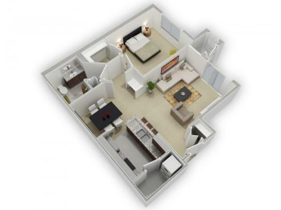 Floor Plan  The Gillilan Floorplan at Algonquin Square Apartment Homes, Algonquin, IL 60102